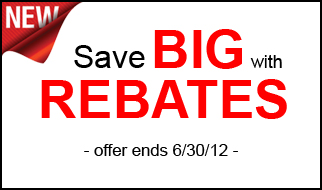 Save Big with Rebates